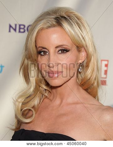 LOS ANGELES - AUG 11:  CAMILLE GRAMMER arriving to Summer TCA Party 2011 - NBC  on August 11, 2011 in Beverly Hills, CA