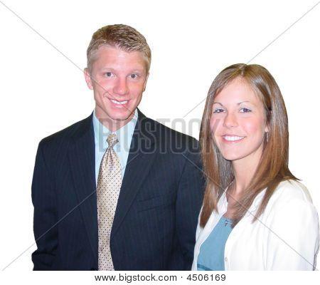 Nice Couple Smile
