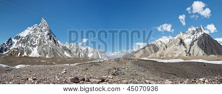 Concordia Panorama, Karakorum Range, Pakistan