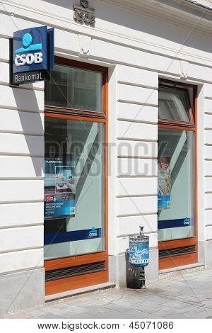 Csob Bank In Slovakia