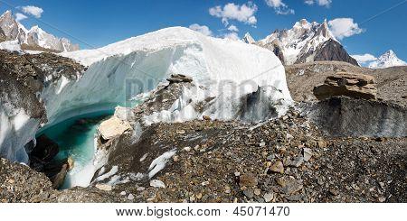 Baltoro Glacier Panorama, Pakistan