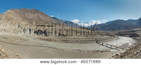 Indus River Panorama, Pakistan