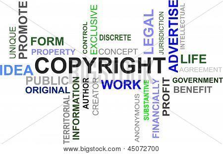 Word Cloud - Copyright
