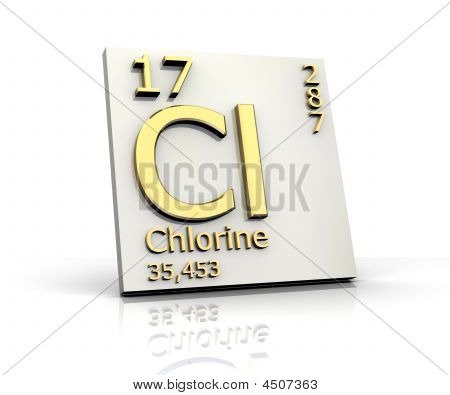 Chlorine Form Periodic Table Of Elements