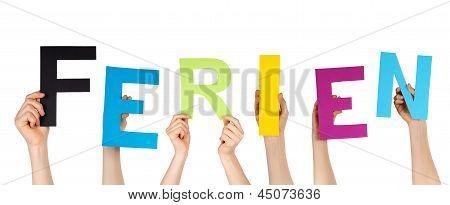 Hands Holding Ferien
