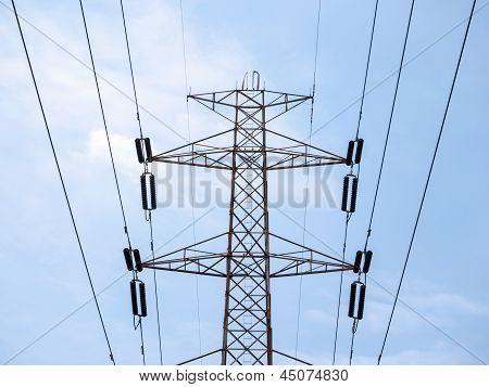 High Voltage Powerlines