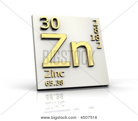 Zinc Form Periodic Table Of Zinc Periodic Table