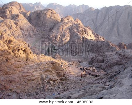 Mount Sinai Or The Mount Of God