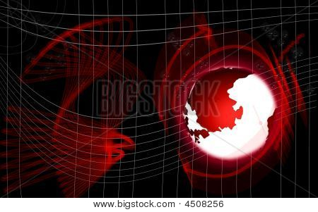 Digital Globe Background