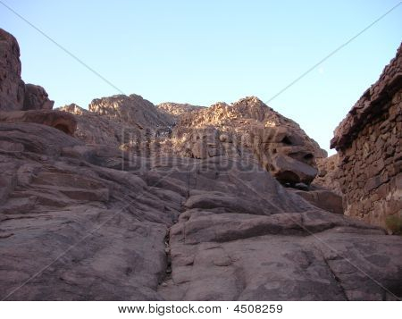 Mountaina In Sinai Or The Mount Of God