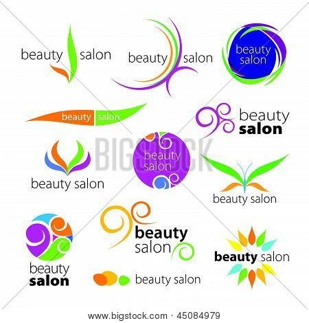 vector collection of creative characters Salons Beauty Workshops