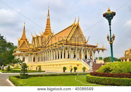 The Royal Palace Phnom Penh