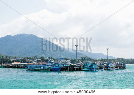 Port Of Discharge Of Koh Phangan