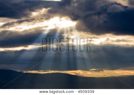 Sunshine Through Clouds