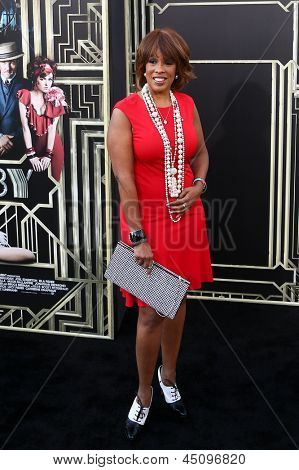 NEW YORK-NOV 18: Journalist Gayle King attends the premiere of