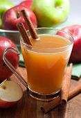 image of cider apples  - apple cider with cinnamon - JPG