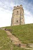 pic of arthurian  - Glastonbury Tor is a hill at Glastonbury - JPG
