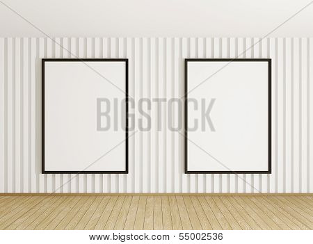 Interior With Two Frames