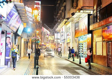 Macao Center Street