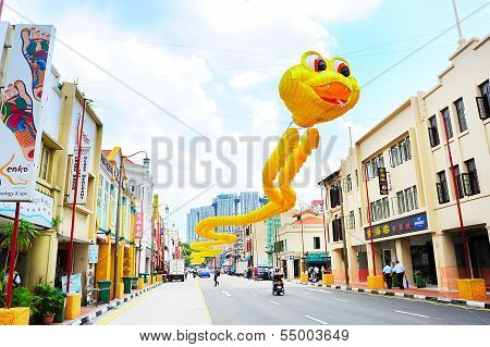 Singapore Chinatown Street