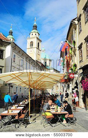 Ljubljana Street Cafe