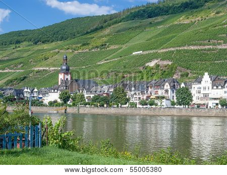 Zell,Mosel River,Mosel Valley,Germany