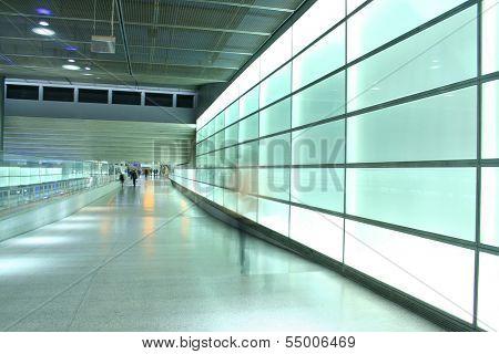 light wall in Berlin underground