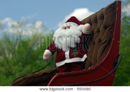 Santa In The Summer