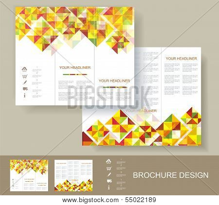 Print, Poster Design Template.