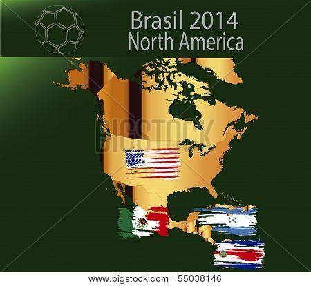 Brazil 2014 Team north america
