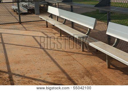 Baseball Field Dugout