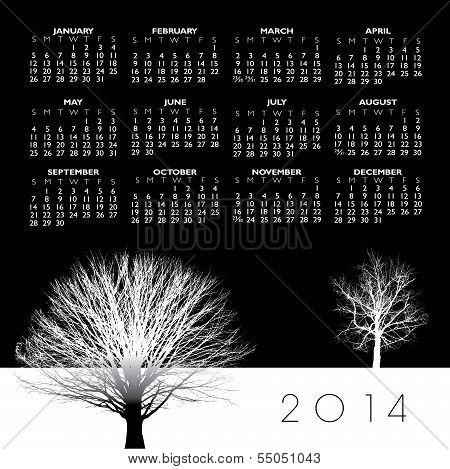 2014 Creative Tree Calendar