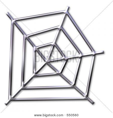 Silver Spider Web
