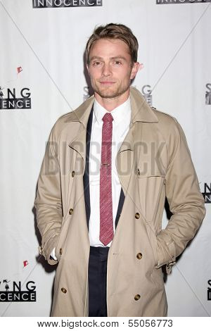 LOS ANGELES - DEC 5:  Wilson Bethel at the 2nd Annual Saving Innocence Gala at The Crossing on December 5, 2013 in Los Angeles, CA