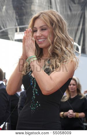 LOS ANGELES - DEC 5:  Thalia at the Thalia Hollywood Walk of Fame Star Ceremony at W Hollywood Hotel on December 5, 2013 in Los Angeles, CA