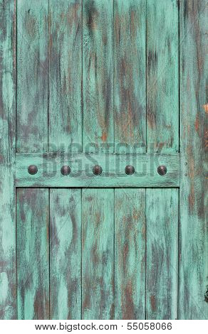 wood background with studs