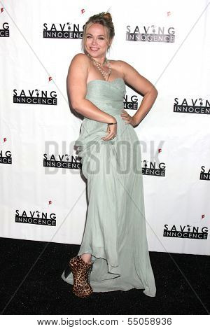 LOS ANGELES - DEC 5:  Amanda Fuller at the 2nd Annual Saving Innocence Gala at The Crossing on December 5, 2013 in Los Angeles, CA