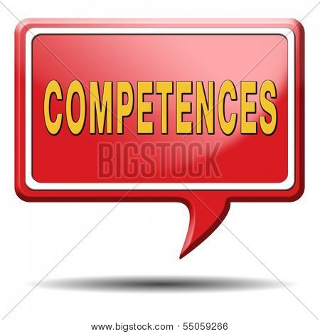 competences competence or job skill can make you expert professional