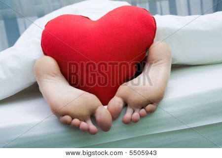 Feet With Heart