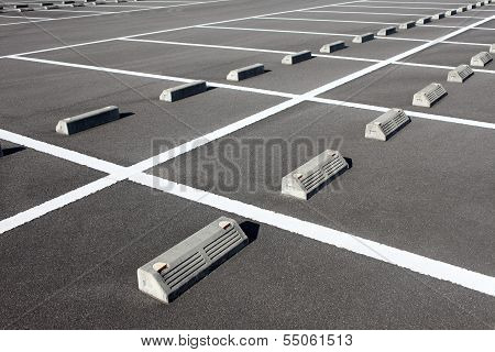 car parking lot