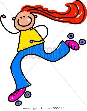 Roller Skate Kid