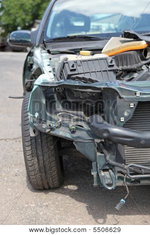 Crashed Automobile