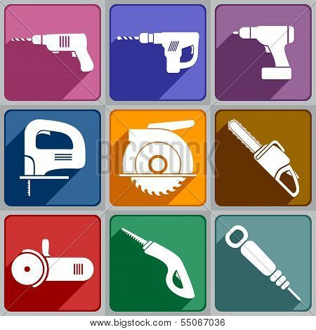 Icons Of The Electric Tools