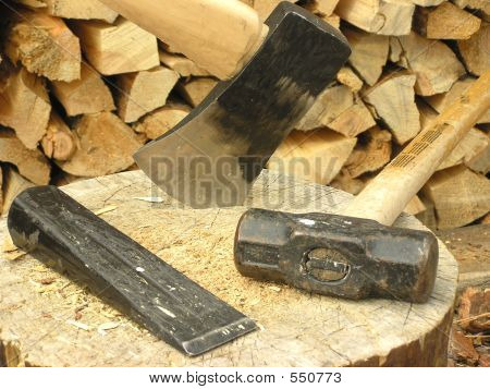 Chopping Wood Horizontal
