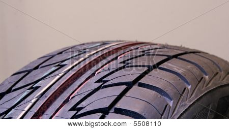 New Tire - Top View