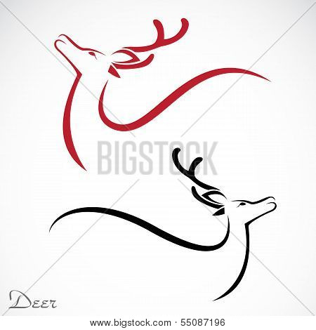 Vector Image Of An Deer