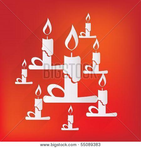 Candle web icon