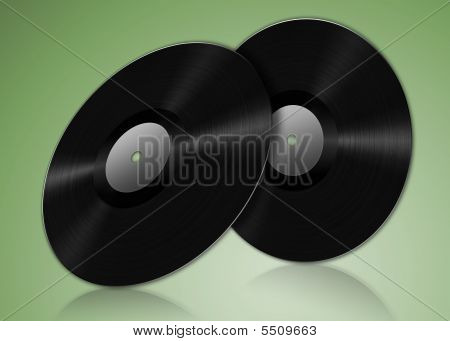 Two Vinyl Records