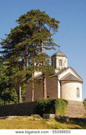 Ortodox Church In Cetinje, Montenegro