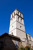 stock photo of avignon  - Bell tower of Church of Saint - JPG